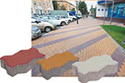 Плитка Тротуарная Волна