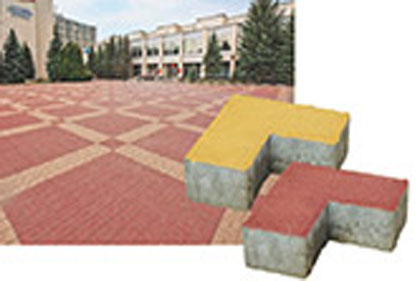 Тротуарная плитка Уголок